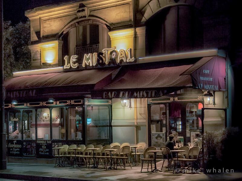 Class3C_1st_Mike Whalen_Paris Cafe at Night