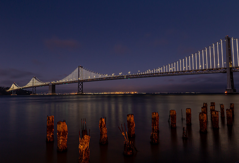 Class1D_2nd_Ilenia Alvarez_San Francisco Bay Bridge At Blue Hour