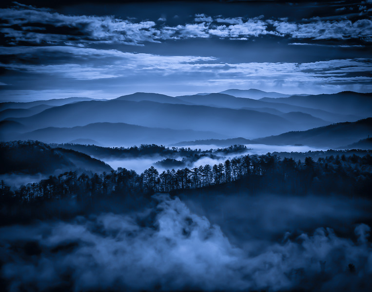 Class3D_HM_Lynn Cates_Morning in the blue ridge mountains