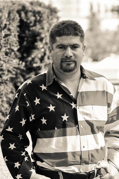 Portfolio Project 2013 - Flag Shirt guy