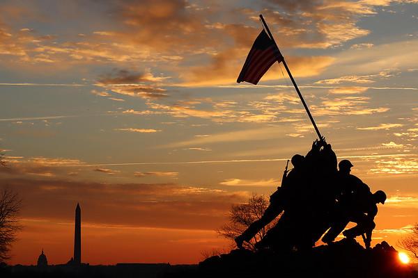 Iwo Jima Memorial - Mike Iserman