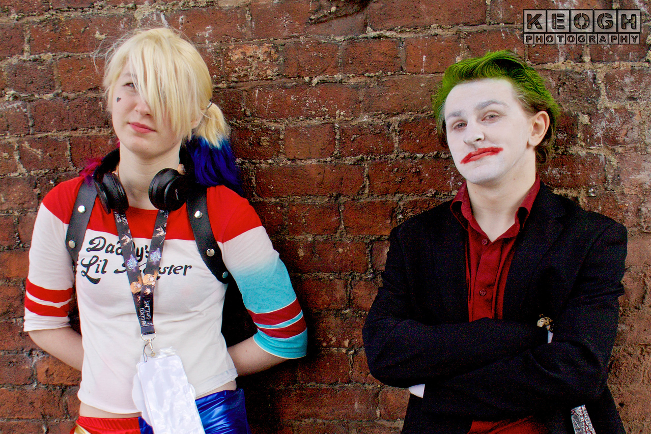 NW Cosplay June Meet 2016, Cosplay, Cosplayer, Male, Manga, Animation, Video Games, Movies, Films, DC, DC Comics, Comics, Batman, Suicide Squad, Arkham Asylum, Arkham City, Arkham Knight, Arkham Origins, The Joker, Joker, Clown Prince Of Crime, Criminal, Gangster, Gang Boss, Mister J, Puddin, Suit, Shirt, Pants, Gun, Knife, Blade, Gloves, Black, Red, Green, White, Playing Cards, Harley Quinn, Top, Jacket, T-Shirt, Hot Pants, Boots, Daddy's Little Monster, Psycho, Psychopath, Harley Quinn, White, Red, Blue Gold, Black