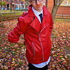 NW Cosplay Halloween Meet 2016, Cosplay, Cosplayer, Male, Anime, Manga, Video Game, RWBY, Neptune Vasilias, Leather Jacket, Shirt, Tie, Pants, Trousers, Wrist Guards, Glasses, Goggles, Sword, Weapon, Shoes, Black, Red, White, Silver, Blue, Blade