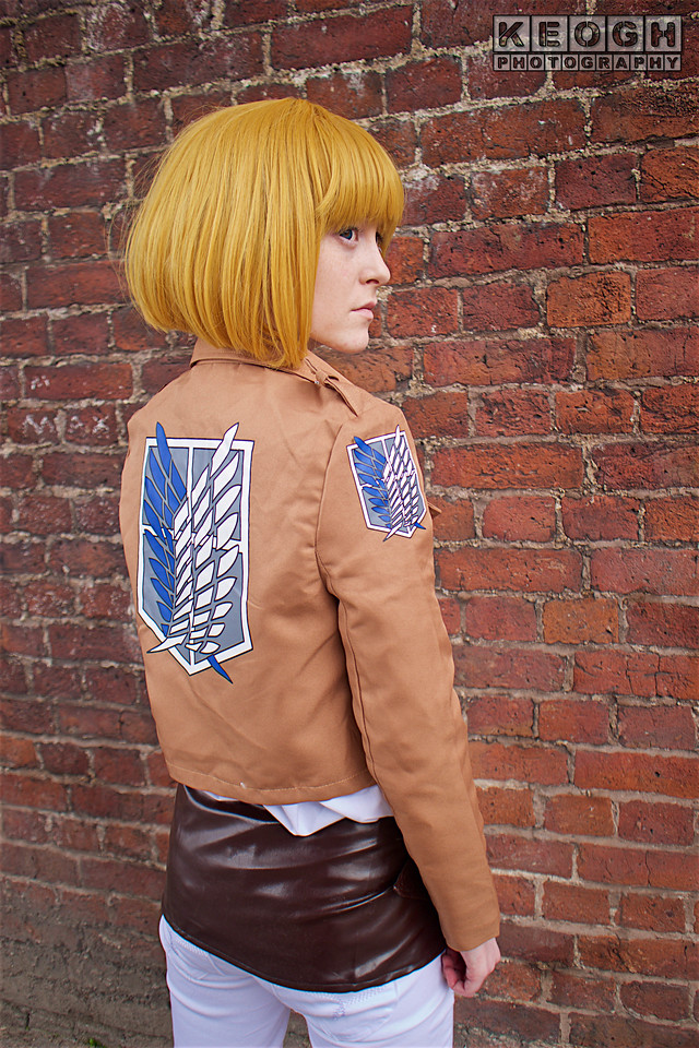 NW Cosplay Summer Meet 2016, Cosplay, Cosplayer, Female, Attack On Titan, Manga, Anime, Soldier, Jacket, Pants, Straps, Leather, Brown, White, Green, White,