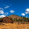 An Old Barn along Hwy 218