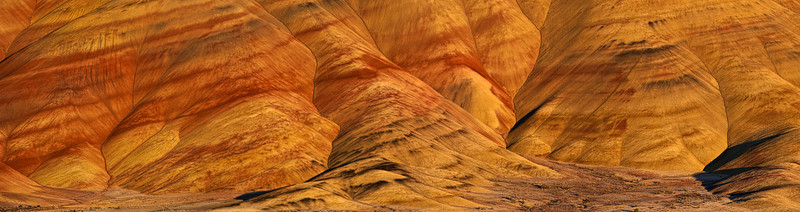 The Folds of the Painted Hills