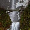 The Beginnings of an Icy Multnomah Falls