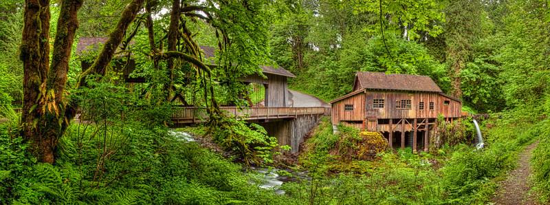 Cedar Creek Grist Mill Washington