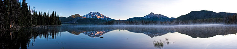 Misty Sparks Lake Sunrise