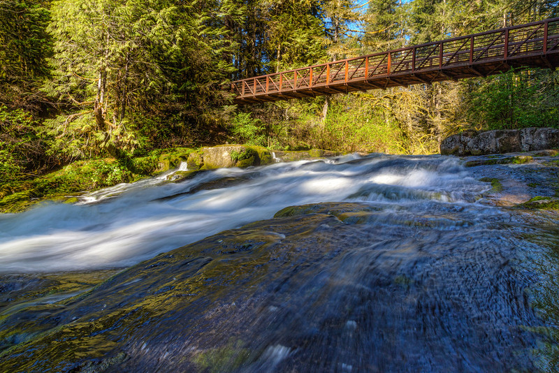 Lacamas Creek in Lacamas Park Camas Washington