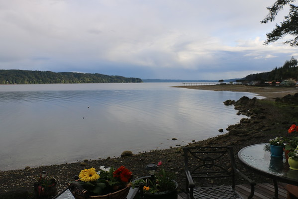 NW TRIP - Days 8 -9, at Dave & Sally's on Hood Canal