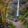 Late Fall Latourell Falls