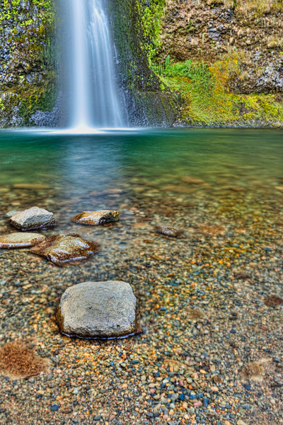 Horsetail Falls Pool
