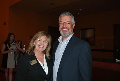 Lynda Lloyd and Tony Warren