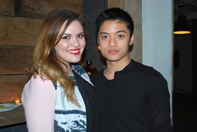 Alexandra Marquez and Felix  Bui