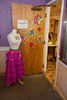 NWCT costume designer Mary Rochon opened up the costume shop at the recent NWCT Open House.