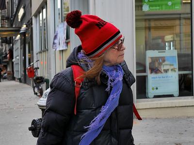 SENIOR IN RED CAP