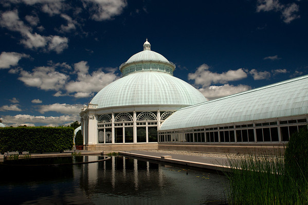 Enid A. Haupt Conservatory NY Botanical Gardens