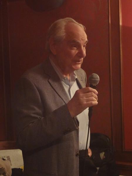 Dennis Strom sharing his memories of Eli Robins.