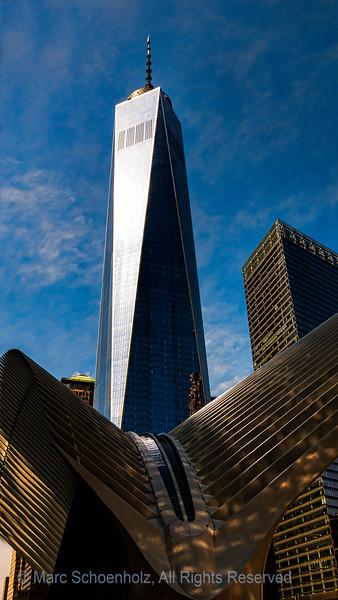 Oculus and WTC Transit Hub