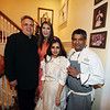 Sandeep Khosla, Meera Gandhi, Mirai Doshi, Chef Floyd Cardoz-New York's famous top Chef Floyed Cardoz  59 years of Bombay died of COVID 19 infection in NYon 25th March 2020 he was tasted positive on 18th march in 1997 he opened restaurent TABLA in Manhatten  with Danny Meyer in photo Chef Floyed preparing food at a party held at Meera Gandhi A global influencer, Humanitarian   Founder of The Giving Back Foundation...pic Mohammed Jaffer-SnapsIndia