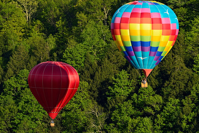 Hot-Air Balloons in Flight 4