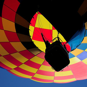 Hot-Air Balloon in Flight 2 - M
