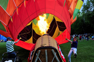 Balloon launch at Letchworth Park 3