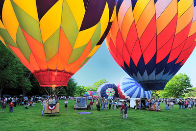 Balloon launch at Letchworth Park 1