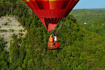Hot-Air Balloon in Flight 3