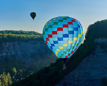 Balloons in Letchworth Gorge 2 - M