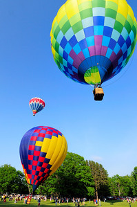Balloon launch at Letchworth Park 9
