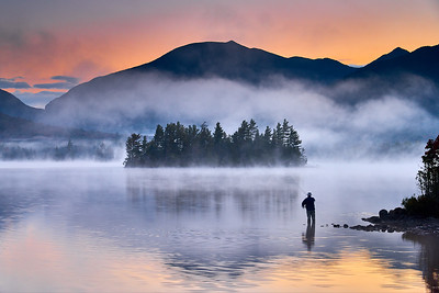 Elk Lake - Fishing at Sunrise
