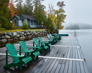 Dockside at Elk Lake