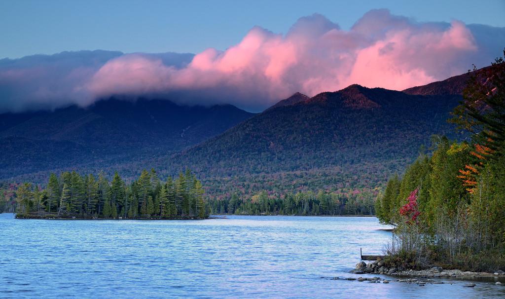 Elk Lake Adirondacks Elk Lake Sunset 6