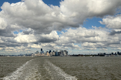 Manhattan from the Harbor - M