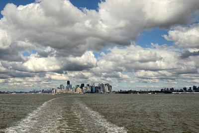 Manhattan from the Harbor - M