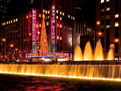 Radio City at Night 1
