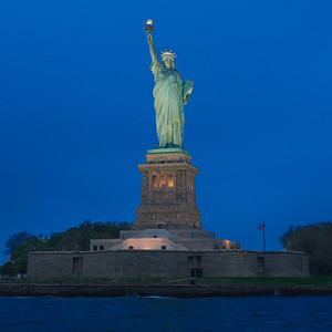 Statue of Liberty at Twilight