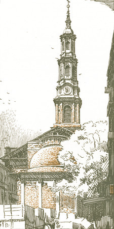 St. John's Chapel in Varick Street  New York; a series of wood engravings in colour and a note on colour printing by Rudolph Ruzicka, with prose impressions of the city by Walter Prichard Eaton.