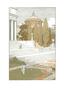 Columbia University  New York; a series of wood engravings in colour and a note on colour printing by Rudolph Ruzicka, with prose impressions of the city by Walter Prichard Eaton.