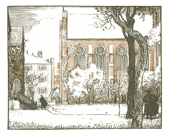 Theological Seminary, Chelsea  New York; a series of wood engravings in colour and a note on colour printing by Rudolph Ruzicka, with prose impressions of the city by Walter Prichard Eaton.