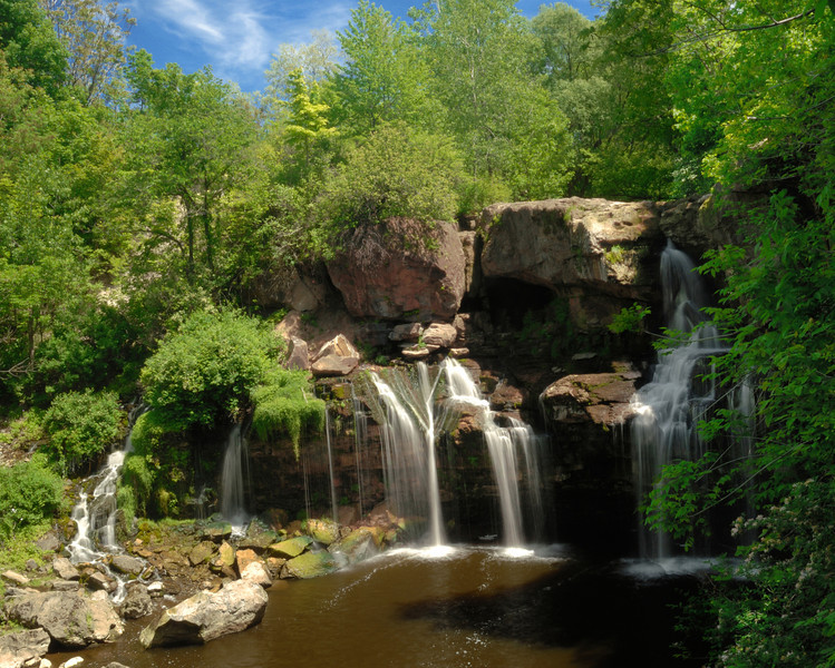 Akron falls state park, NY<br /> Photo # 163