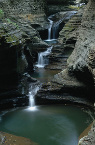 I shot this at f22 at 20s At Watkins Glen State Park