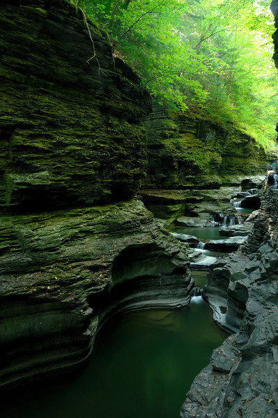 Watkins Glen NY, Exposure time 30s, Aperture f/22