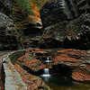 I picked a perfect day to come to Watkins Glen, No body was there so I did not have to wait ,The colors were beautiful and there was no wind<br /> I hope you enjoy this series of photos<br /> Photo # 50