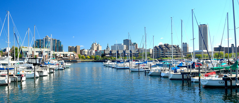 Buffalo NY,Soon the boats will be put away for the winter