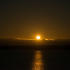 Partial Eclipse over Lake Ontario