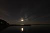 Rising Moon and Jupiter over Lake Ontario<br /> August 26, 2010<br /> John Merchant