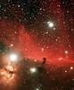 10x10minutes Horsehead & Flame nebula, TeleVue 76, SBIG ST2000XCM,<br /> EQ6 mount...Nov 05/08  Lynn Hilborn Whistle Stop Observatory 44N78W